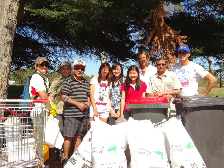 FOTCF participate in clean up Australia Day 2013!